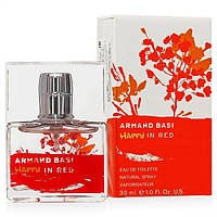 Женская туалетная вода Armand Basi Happy In Red eu de Toilette (EDT) 30ml, фото 1