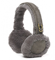 UGG DOUBLE U LOGO EARMUFFS GREY  Наушники