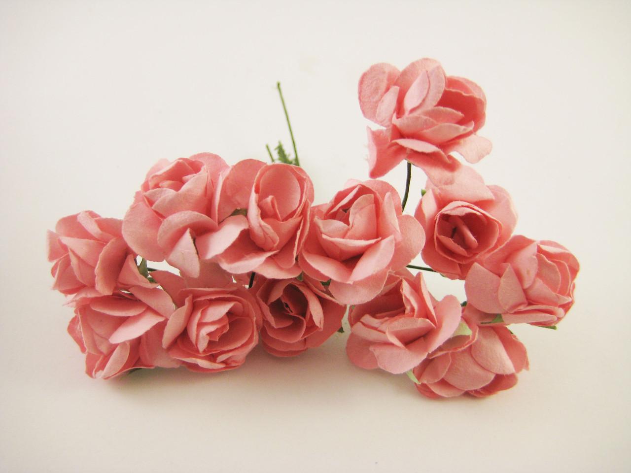 Роза Оранжевая с проволокой