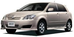 Тюнинг Toyota Allex 2000-2006
