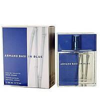 Мужская туалетная вода Armand Basi In Blue for Men eu de Toilette (EDT) 50ml