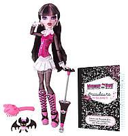 Кукла Дракулаура базовая с питомцем выпуск 2010 г. (Monster High Original Favorites Draculaura Doll)