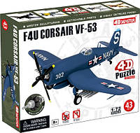 Объемный пазл4D Master Самолет F4U Corsair VF-53 (26900)
