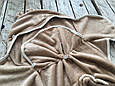 Универсальный махровый спальник, коричневый, 0-6 мес., фото 4