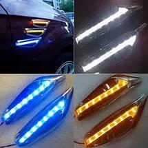Повторители LED, поворотники, повороты, поворотов светодиодные (Желтый,Синий) LED, фото 2