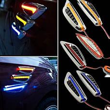Повторители LED, поворотники, повороты, поворотов светодиодные (Желтый,Синий) LED, фото 3