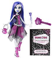 Кукла Спектра Вондергейст базовая с питомцем (Monster High Spectra Vondergeist Doll With Pet Ferret Rhuen)