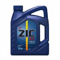 Моторное масло ZIC X5 10W40 4L полусинтетика