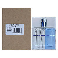 Мужская туалетная вода Armand Basi Blue Sport for Men eu de Toilette (EDT) 50ml, Тестер (Tester), фото 1