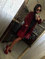 Женский стильный кардиган с поясом, фото 1