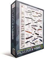 Пазл EuroGraphics Подводные лодки 1000 элементов (6000-0132)