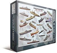Пазл Eurographics Корабли 2-й Мировой войны 1000 элементов (6000-0133)