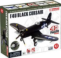 Объемный пазл 4D Master Самолет F4U Black Corsair (26906)