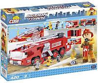 Конструктор Cobi Пожарная машина в аэропорту 420 деталей (COBI-1467)