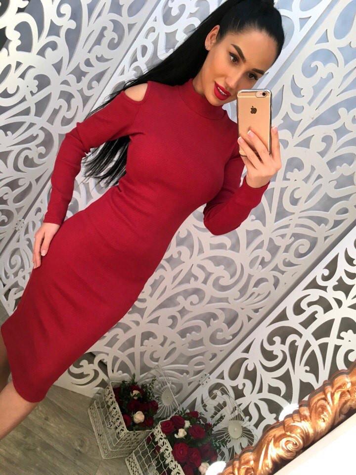 Платье 698
