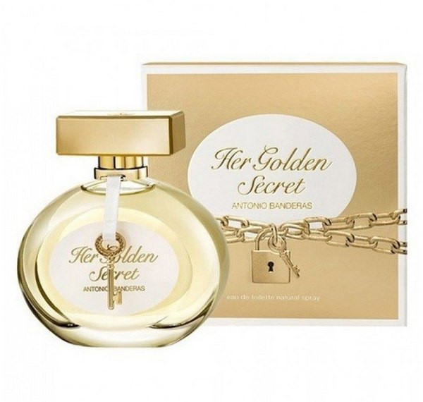 Antonio Banderas Her Golden Secret туалетная вода 80 ml. (Антонио Бандерас Хёр Голден Секрет)