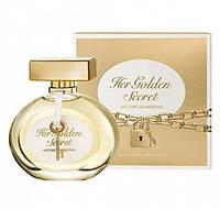 Antonio Banderas Her Golden Secret туалетная вода 80 ml. (Антонио Бандерас Хёр Голден Секрет), фото 1