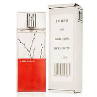 Женская туалетная вода Armand Basi In Red eu de Toilette (EDT) 100ml, Тестер (Tester)