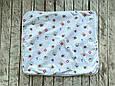 Непромокаемая пеленка 60*80, морская, фото 2