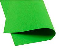 Фоамиран Зеленый лайм 50х50 см 1 мм Корея