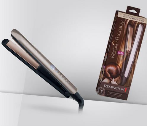 """Плойка для ровных волос с кератином Remington Keratin Therapy Pro s8590 - Интернет-магазин """"Pippin"""" в Львове"""