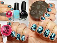 стемпинг для дизайна ногтей фото пошагово инструкция в украине