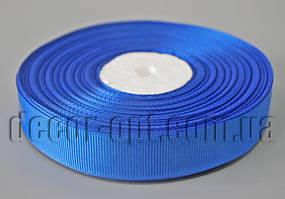 Лента репсовая синяя 2,0 см 36 ярд 40