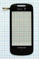 Тачскрин сенсорное стекло для Samsung SPH-M810 Instinct 2 mirror grey