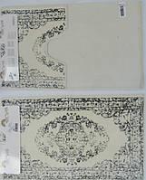 Набор ковриков для ванной комнаты Arya Venus серый 2 пр.