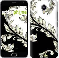 "Чехол на Meizu M2 White and black 1 ""2805u-185"""