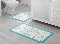 Набор ковриков для ванной комнаты Marie Claire Nelly 57x100 + 55x57