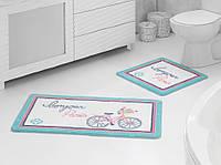 Набор ковриков для ванной комнаты Marie Claire Bonjour 57x100 + 55x57