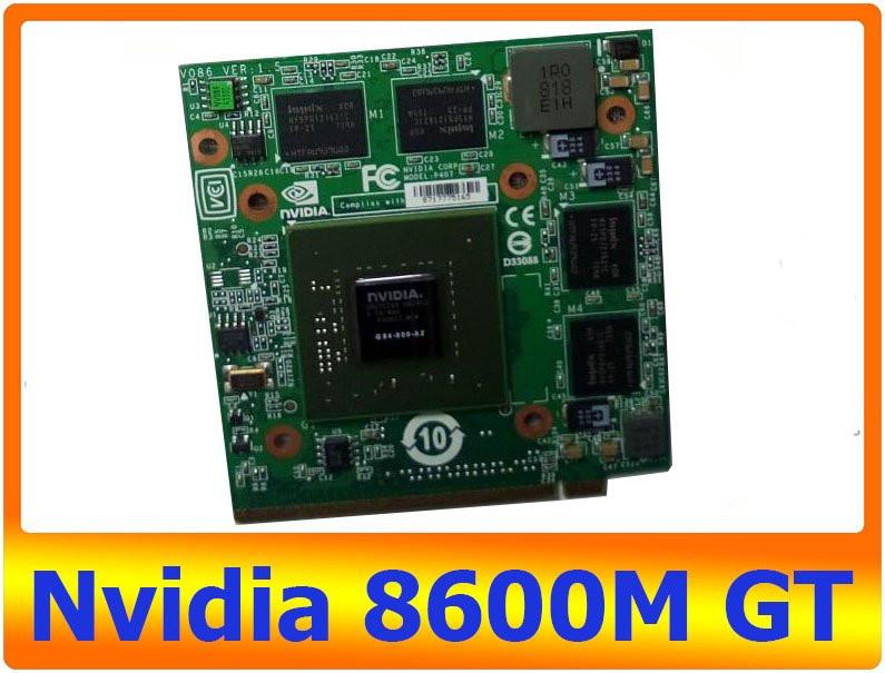 Купить видеокарту nvidia 8600m gt самая лучшая мощная видеокарта