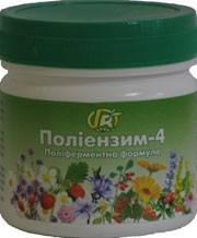 Полиэнзим-4 —280 г — полиферментная формула - Грин-Виза, Украина