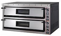 Электрическая печь для пиццы Apach АML66 (две камеры 720х1080х140 мм)
