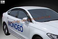 Дефлекторы боковых окон Sim для Ford Mondeo седан 2013