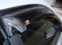 Дефлекторы боковых окон Sim с хром кантиком  для Ford Mondeo седан 2013