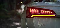 Компания Audi показала оптику нового Q5