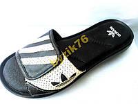 ШЛЕПАНЦЫ КОЖА adidas(распродажа)