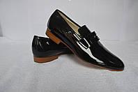Лаковые мужские туфли Anniel
