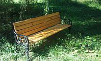 Скамейка чугунная парковая «София-2»