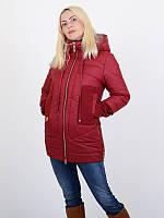 Куртка женская. стильная удлинэнная молодежная куртка с сочетанием кашемира.