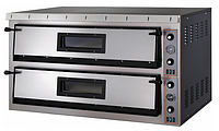 Электрическая печь для пиццы Apach АMM44 (две камеры 700х700х130 мм)