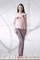 Піжама ELLEN жіноча зі штанами Закохані Пташки 049/001