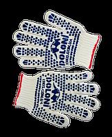 Перчатки вязанные с двусторонним вкраплением L, (580), Украина