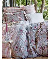Постельное белье Karaca Home Carina indigo 200x220
