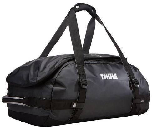 Аккуратная дорожная спортивная сумка на плечо 40 л. Thule Chasm 221101 черный
