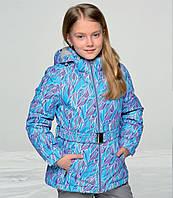 Зимняя термо куртка. Рост 128 см.