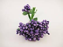 Тычинки Фиолетовые на ветке