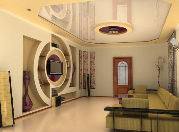 Премиум ремонт со встроенными полочками , Строительство коттеджей, домов в Украине